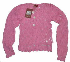 Chipie Pink Summer Cardigan Age 10 NWT Clearance