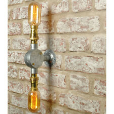 New Industrial Style 2 way Wall Light Vintage Retro Lighting Sconce works w/ led