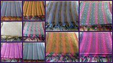 20pcs. Art Wholesale Lot Indian Designer Silk Scarf Wraps Shawls Scarves Stoles