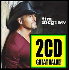 TIM McGRAW (2 CD) NUMBER ONE HITS w/BONUS Trx ~ BEST OF / GREATEST COUNTRY *NEW*