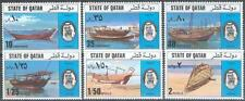 Qatar 1976 ** Mi.685/90 Schiffe Ships Dhaus Dhows Boote Boats