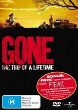 Gone / Fear  (DVD, R4, 2007, Thriller, 2 Disc Set, Free Postage)