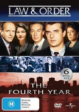 Law And Order : Season 4 (DVD, 2006, 6-Disc Set)