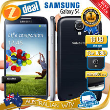 (NEW SEALED BOX) SAMSUNG GALAXY S4 I9505 I9515 4G LTE 100% UNLOCKED PHONE BLACK