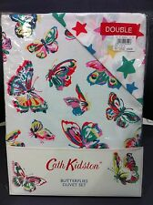 New Cath Kidston Butterflies SINGLE Duvet Cover with Pillowcase - RRP £45.00