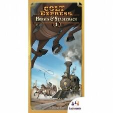 Colt Express Horses & Stagecoach Expansion Brand New