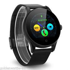 Bluetooth Smart Watch Armbanduhr Schrittzähler Pulsuhr Handy Uhr für iOS Andriod