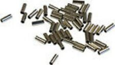 Pack of 50 NICKEL PLATED SLIM CRIMPS UP TO 20lb --PIKE / SEA FISHING