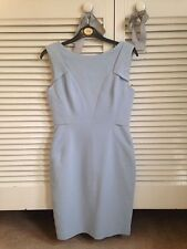 Reiss Pale blue fitted pencil dress Size UK 8 / 10