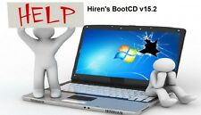 Hirens Boot CD v15.2 Disc - Troubleshoot, Repair & Maintain Your PC