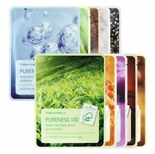 TONYMOLY Pureness 100 Mask Sheet - 10 Types (10pcs)