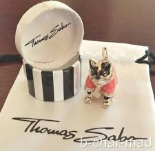 THOMAS SABO | AUTHENTIC Silver Pink Hip Hop / Disco French Bulldog: T0277-007-9