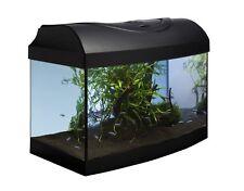 Diversa Aquarium Set Startup 40 AP in schwarz mit gewölbter Frontscheibe