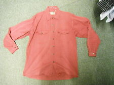Diesel Extra Large Mens Dark Red Casual Long Sleeve Denim Dress Shirt