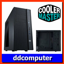 Cooler Master N400 KWN2 ATX Mid Tower Side Window Desktop PC Case USB3.0 NO PSU