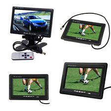 "7"" TFT LCD Screen Monitor For Backup Camera In-Car Rear View Parking System Kit"