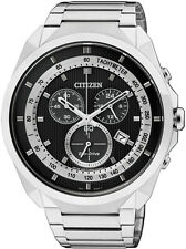 Citizen Eco-Drive Solar Power Stainless Steel Mens Watch. Look Smart. AT2150-51E