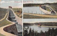 AK Talsperre der Stadt Plauen i. V. Vogtland Postkarte Postcard