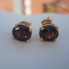 1.49ct Colour Change Sapphire Gold Stud Earrings