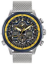 Citizen Eco-Drive JY8031-56L Men's Blue Angel Navihawk AT Chrono World Watch
