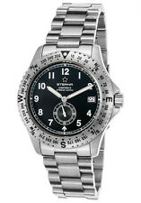 NEW $1300 ETERNA G-s Watch118417411400178 Airforce Automatic W.R 120m Swiss Made