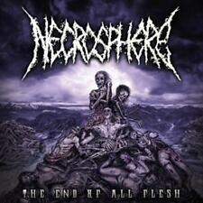 Necrosphere - The End Of All Flesh CD (2015) neu/ovp