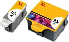 2x DRUCKER PATRONE für KODAK 10 XL Office Hero 7.1 9.1 6.1 ESP 6150 7250 9250