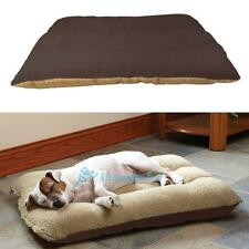 Medium Extra Large Pet Mat Dog Bed Fleece Washable Cushion Pillow Mattress Warm