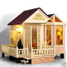 DIY Handcraft Miniature Project Kit Wooden Dolls House My Honeymoon Beach Villa