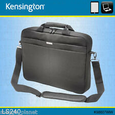 "Kensington LS240 13/14"" Laptop/Tablet Padded Messenger Carry Case *DARK GREY*"