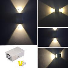 2W 2LED Wandleuchte Effektlampe Wandlampe Beleuchtung Flurlampe Wandstrahler