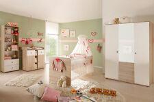 Babyzimmer Komplett Set Kinderzimmer Komplettset Babymöbel WIKI 2 in Eiche neu