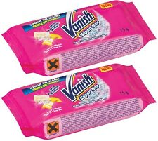 Vanish Super Bar Stain Remover Laundry Bar Soap (2 x 75g) Pre Wash Soap Bar