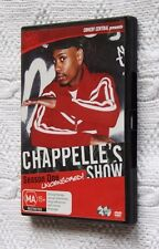 Chappelle's Show- Season One- Uncensored! (DVD, 2-Disc) R-4, Like new, free post