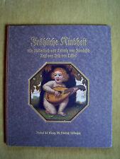 """""""Fröhliche Kindheit – Ein Bilderbuch"""" von Fritz von Ostini (1921)"""
