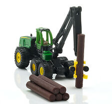 NEW Siku John Deere 3 Axle Harvester 1:87 Die Cast Toy Truck with Trees 1652