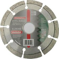 "Metabo 624306000 115mm / 4 1/2"" Diamond Angle Grinder Cutting Disc"
