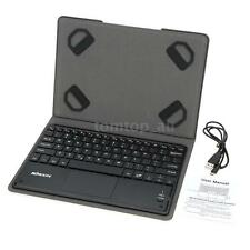 Wireless Bluetooth 3.0 Keyboard Touchpad for Android Tablet W/ Leather Case X5H5