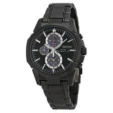 Seiko Men's SSC095 Alarm Chronograph Quartz Dual Time Stainless Steel Watch