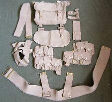 WWI BRITISH P08 P1908 WEBBING EQUIPMENT SET