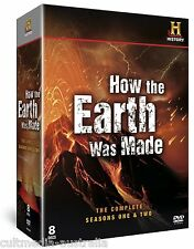 HOW THE EARTH WAS MADE COMPLETE SERIES SEASON 1 + 2 COLLECTION NEW 8 DVD R4