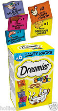 DREAMIES SUPERMIX CAT TREATS 6 PACKS 180 G TOTAL CHRISTMAS GIFT IDEA 5 FLAVOURS