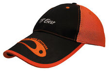 TF Gear Baseball Cap - Black and Orange