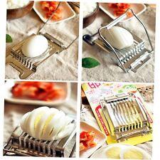 Stainless Steel Boiled Egg Slicer Cutter Fruit Vegetable Chopper Kitchen NK