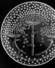 """Rosenthal """"Blütenregen"""" Glas Teller Ø16,5 cm Nanny Still glass plate annees 70"""