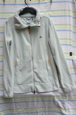 Ladies Adidas Fleece Top Clima365 Style Grey Soft Feel Size 10 Casual Sport