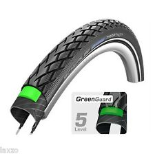 700 x 35c Schwalbe Marathon Puncture Resistant Kevlar Bicycle Bike Tyre Black