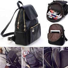Girl School Bag Travel Leather Backpack Satchel Women Shoulder Rucksack NEW