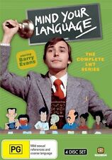 Mind Your Language - The Complete LWT Series (DVD, 2010, 4-Disc Set)
