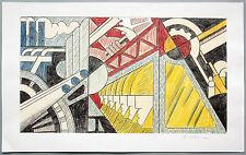 Roy Lichtenstein (1923-1997) Study for Preparedness Farboffsetlitho handsigniert